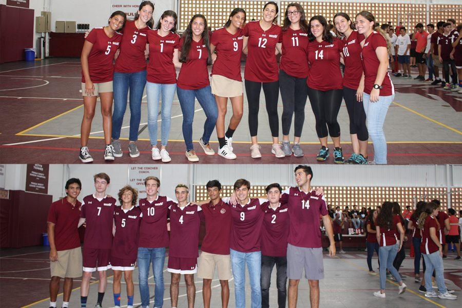 Girls+and+Boys+Varsity+Volleyball+Teams